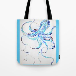 Wiggly Octopus Tote Bag