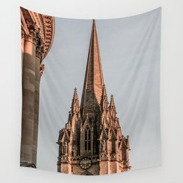 St. Mary The Virgin Anglican Church at Oxford University England Wall Tapestry