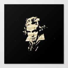 Beethoven - German Composer Canvas Print