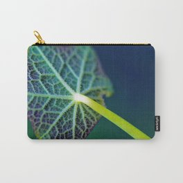 Leaf Underside Macro Close Up Carry-All Pouch