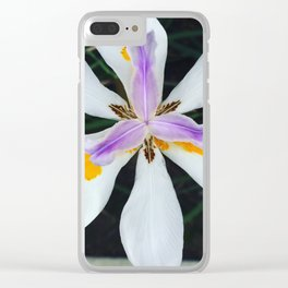 Layers of Threes Clear iPhone Case