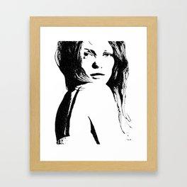 Vanessa Paradis I Framed Art Print