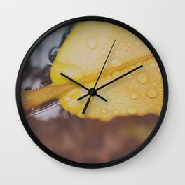 MOIST IS AN UGLY WORD Wall Clock