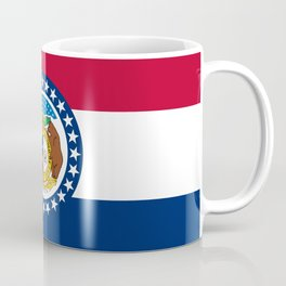 Missouri State Flag Coffee Mug