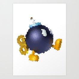 BobOmb Art Print
