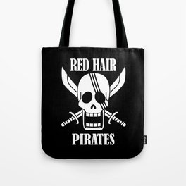 Red hair pirates Tote Bag
