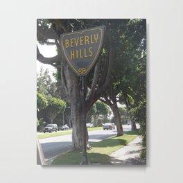 90210 Metal Print