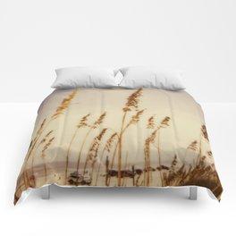 Beach Grass - Polaroid Comforters
