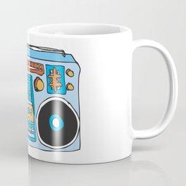 80's Boombox Coffee Mug
