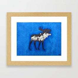Blue Moose Framed Art Print