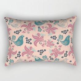 Bird in the nest Rectangular Pillow