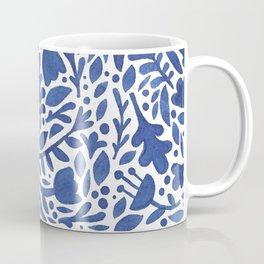 Nature Folk in Blue Coffee Mug