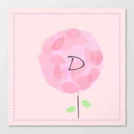 Flower D Canvas Print