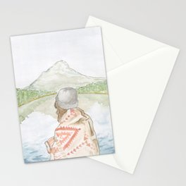 Mornings at the Lake Stationery Cards