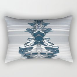 Faces In The Crowd Rectangular Pillow