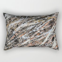 Copper Ore painting Rectangular Pillow