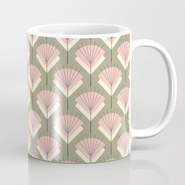 Mid-century Modern Radio Antenna Pattern /Rose Coffee Mug