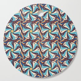 Abstract geometric colorful seamless pattern Cutting Board