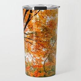 Fall - Beautiful couple Travel Mug