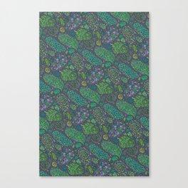 Nugs in Green Canvas Print