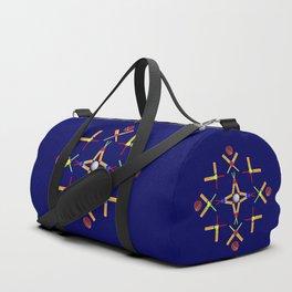 Sport Of Cricket Design Duffle Bag