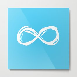 Fault In Our Stars - Infinity Metal Print
