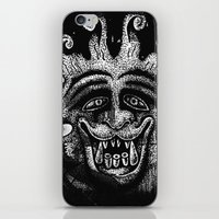 mythology iPhone & iPod Skins featuring Shadow Beast Mythology by Anya Campbell by BohemianBound