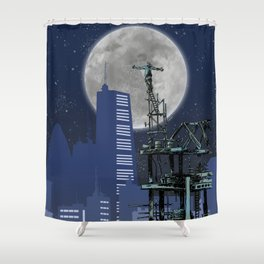 Urban Explorer Shower Curtain