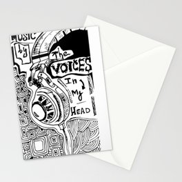 voices  Stationery Cards