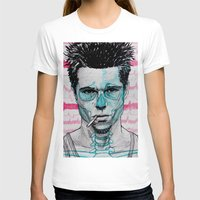 tyler durden T-shirts featuring Tyler Durden by Bronsolo Illustration