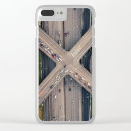 Boren and Pine Clear iPhone Case