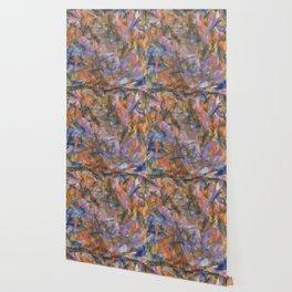 Dark Moods Brushstroke Abstract Wallpaper