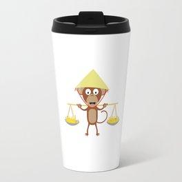 Vietnamese monkey Travel Mug