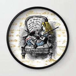 Alice Nonsense Wall Clock