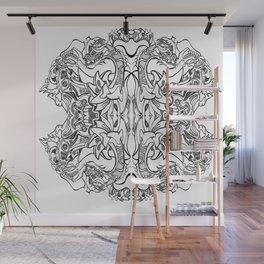 Abrastraction Wall Mural