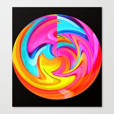 Psychedelic Moonshine Canvas Print