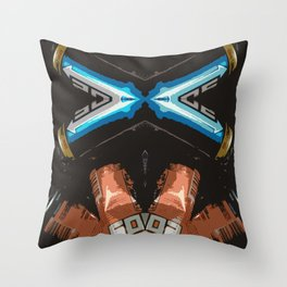 Jacked Up Throw Pillow
