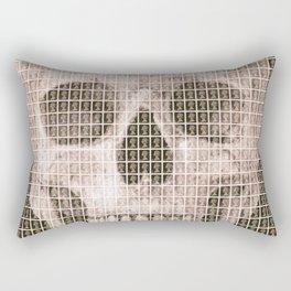 Skull - Black Rectangular Pillow