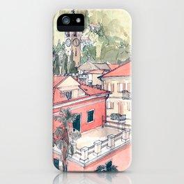 Baveno, Lake Maggiore, Northern Italy. iPhone Case