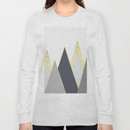 Minimalist Landscape V Long Sleeve T-shirt