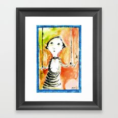 COLETTE Framed Art Print