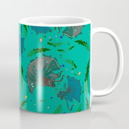 Angry Little Fish Pattern Coffee Mug