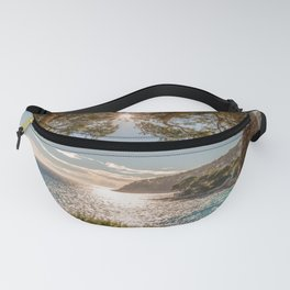 Seacoast of Cap Ferrat in a sunny winter day Fanny Pack