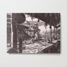 En Avance Metal Print