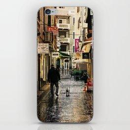 Walking the dog iPhone Skin