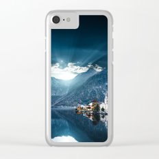 hallstatt in austria Clear iPhone Case