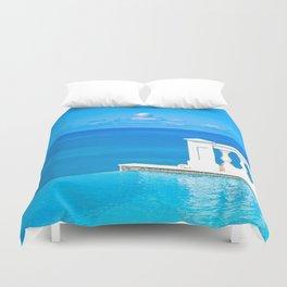 infinitely blue Duvet Cover