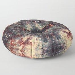 Space Mandala 30 Floor Pillow
