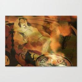 Morocco teatime Canvas Print