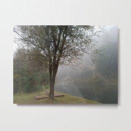 Foggy Horizons Metal Print